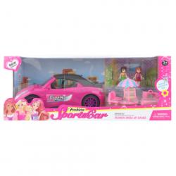 Auto pre bábiky s doplnkami