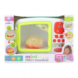 Mikrovlnka na batérie - pečené kura