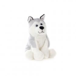 Pluszowy pies Husky