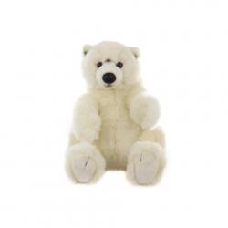 Plyš Ľadový medveď 33 cm
