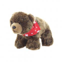 Plyš Medveď sa šatkou 25 cm