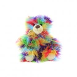 Plyš Medveď farebný 33 cm - ECO-FRIENDLY