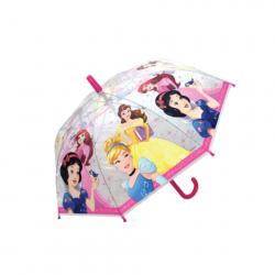Deštník Princezny manuální průhledný