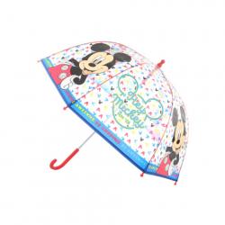 Dáždnik Mickey priehľadný manuálny