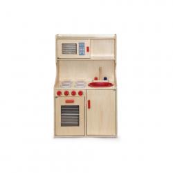 Přírodní dřevěná kuchyně
