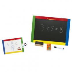 Dřevěná magnetická tabule