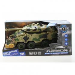 Tank na batérie - maskáč svetlý