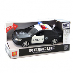 Policajné auto batérie