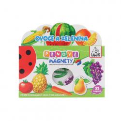 Penové magnety Ovocie a zelenina