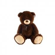 Plyš medvěd tmavý 100 cm