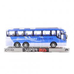 Autobus zotrvačník modrý
