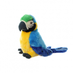 Plyš Papagáj maňuška 27 cm