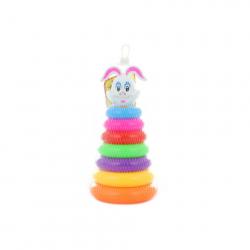 Kolumna z pierścieniami - królik