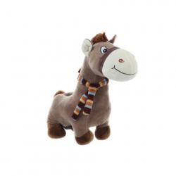 Pluszowy koń ze skarbem i dźwiękiem