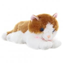 Pluszowy Kot czerwono-biały 30 cm