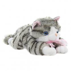 Pluszowy Szary Kot 30 cm