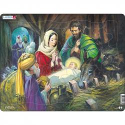 Puzzle Biblia - Narodenie Ježiša 33 dielikov