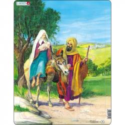 Puzzle Biblie - Cesta do Egypta 48 dielikov