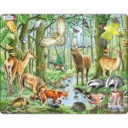 Puzzle Evropský les 40 dílků