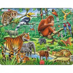 Puzzle Džungľa 20 dielikov