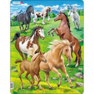 Puzzle Koně 65 dílků