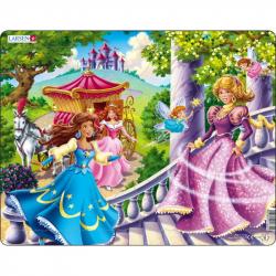 Puzzle 3 princeznej + 2 lietajúci 24 dielikov