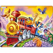 Puzzle Cirkusový vlak 30 dílků