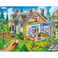 Puzzle Dům 62 dílků