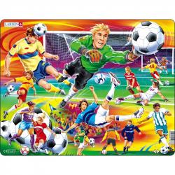 Puzzle Fotbal - soccer 65 dílků