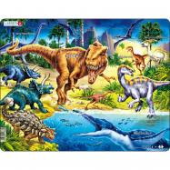 Puzzle Dinosauři z období křídy 57 dílků