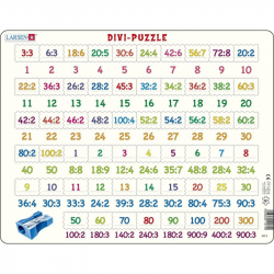 Puzzle Delenie 81 dielikov