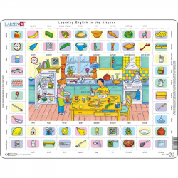 Puzzle Hodina angličtiny 170 dielikov