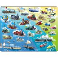 Puzzle Historie pohybu s motorem 54 dílků