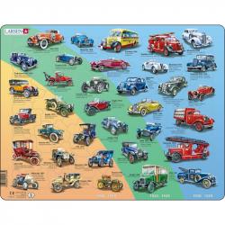 Puzzle Historická autá - veteráni 42 dielikov