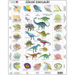 Puzzle Fascinujúci svet dinosaurov 35 dielikov
