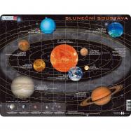 Puzzle Sluneční soustava 70 dílků