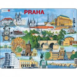 Puzzle Praha - najzaujímavejšie atrakcie 66 dielikov