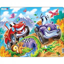 Puzzle Autá 22 dielikov