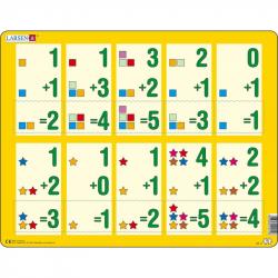 Puzzle Malé sčítanie 1-510 dielikov