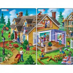 Puzzle Dom 30 dielikov