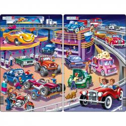 Puzzle Autá - cars 15 dielikov