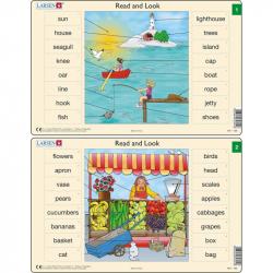 Puzzle Angličtina - slovíčka RA1 16 dielikov