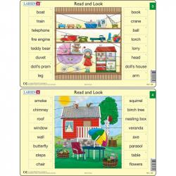 Puzzle Angličtina - slovíčka RA2 16 dielikov