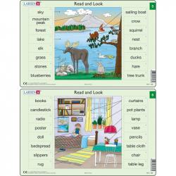 Puzzle Angličtina - slovíčka RA3 16 dielikov