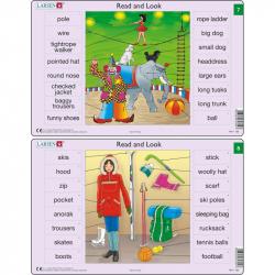 Puzzle Angličtina - slovíčka RA4 16 dielikov
