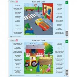 Puzzle Angličtina - slovíčka RA5 16 dielikov