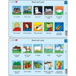 Puzzle Angličtina - krátky text RA6 10 dielikov