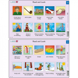 Puzzle Angličtina - krátký text RA7 10 dílků