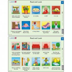 Puzzle Angličtina - krátky text RA9 10 dielikov