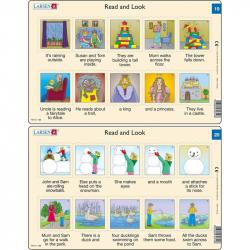 Puzzle Angličtina - krátký text RA10 10 dílků